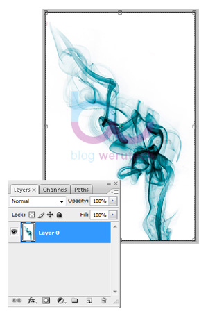 Menghilangkan Background Gambar Dengan Layer Mask