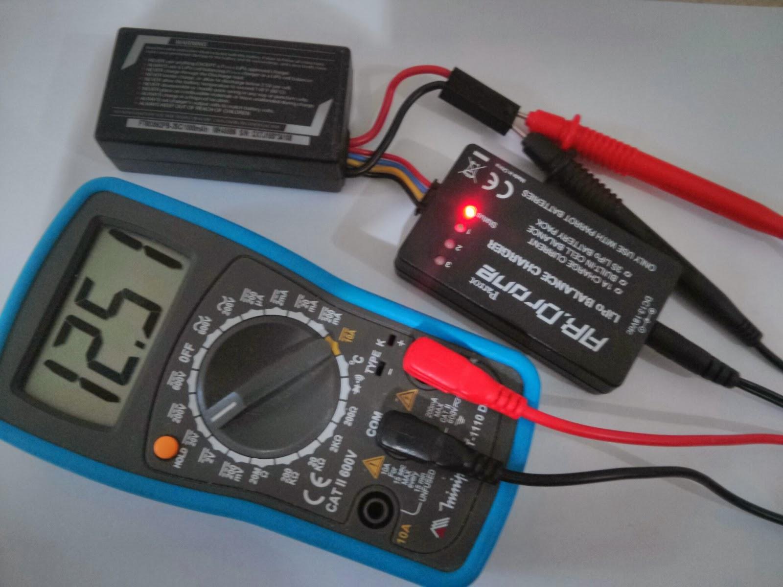 Murilo Pontes: Recuperando bateria do ardrone