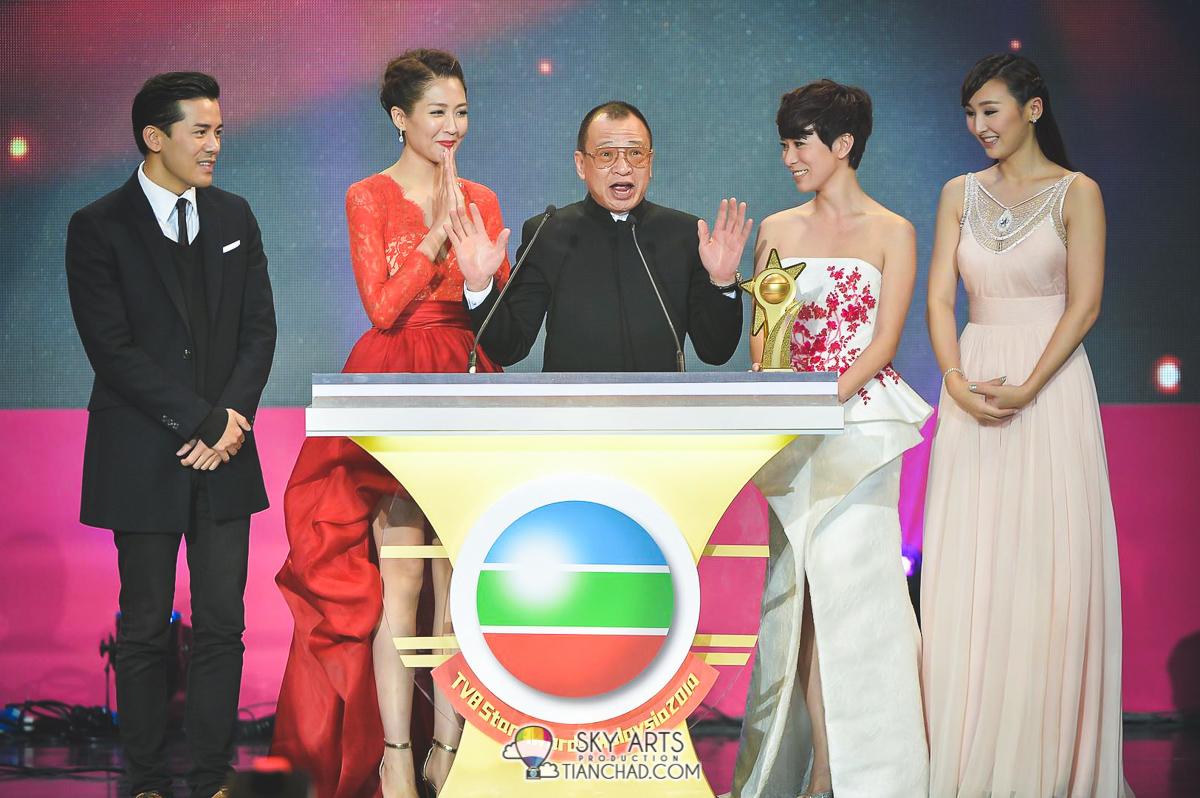《使徒行者》是《TVB馬來西亞星光薈萃頒獎典禮2014》的大赢家