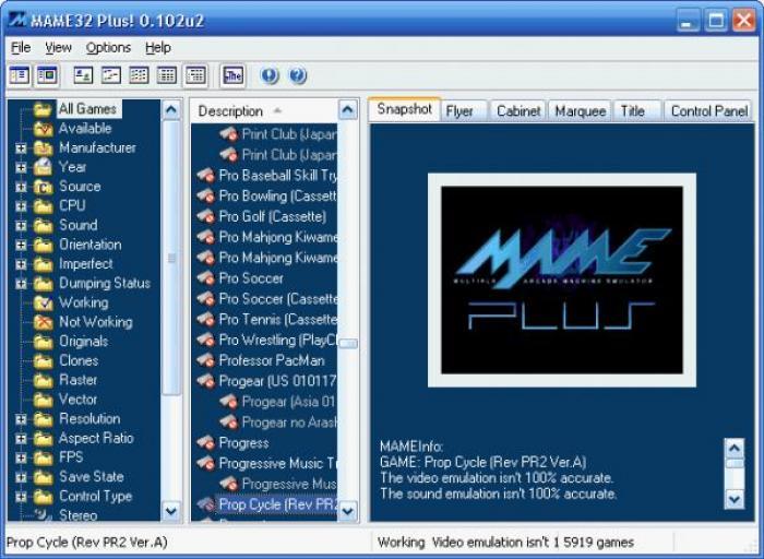 descargar emulador mame32