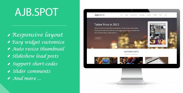 Ajbspot | Responsive MultiPurpose Premium Blogger/Blogspot Template