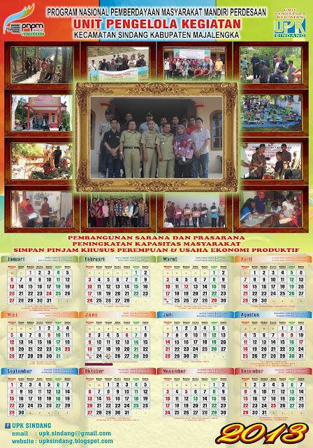 Kalender UPK Sindang