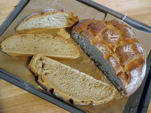 Crusty white loaf recipe