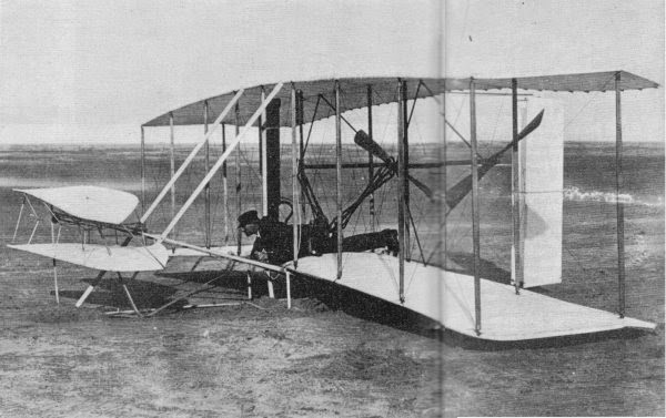 Wright brothers the fist plane
