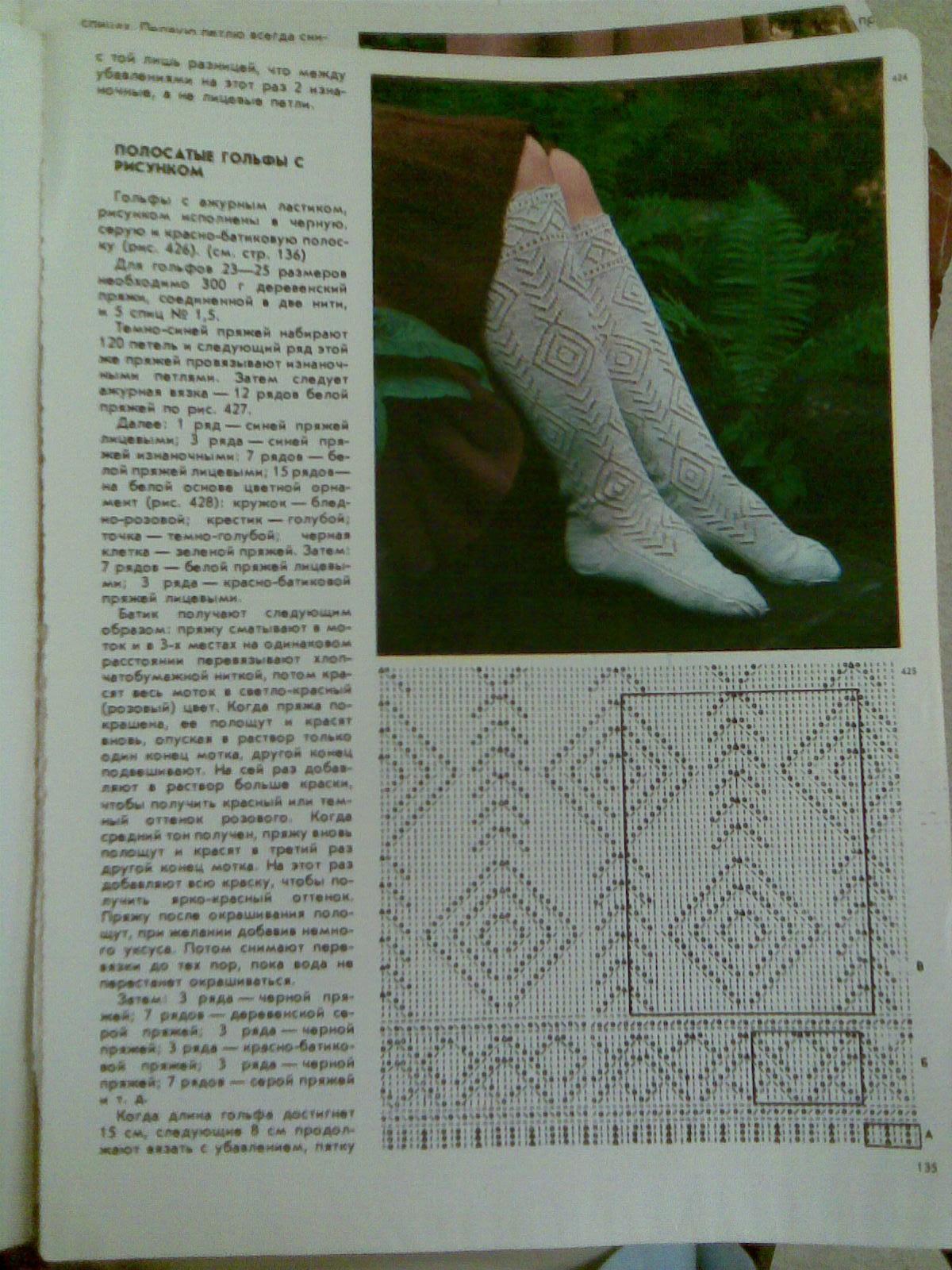 Вязание из старых журналов крестьянка 57