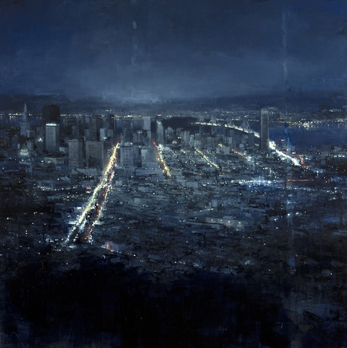 05-San-Francisco-Jeremy-Mann-Figurative-Painting-in-Cityscapes-Oil-Paintings-www-designstack-co