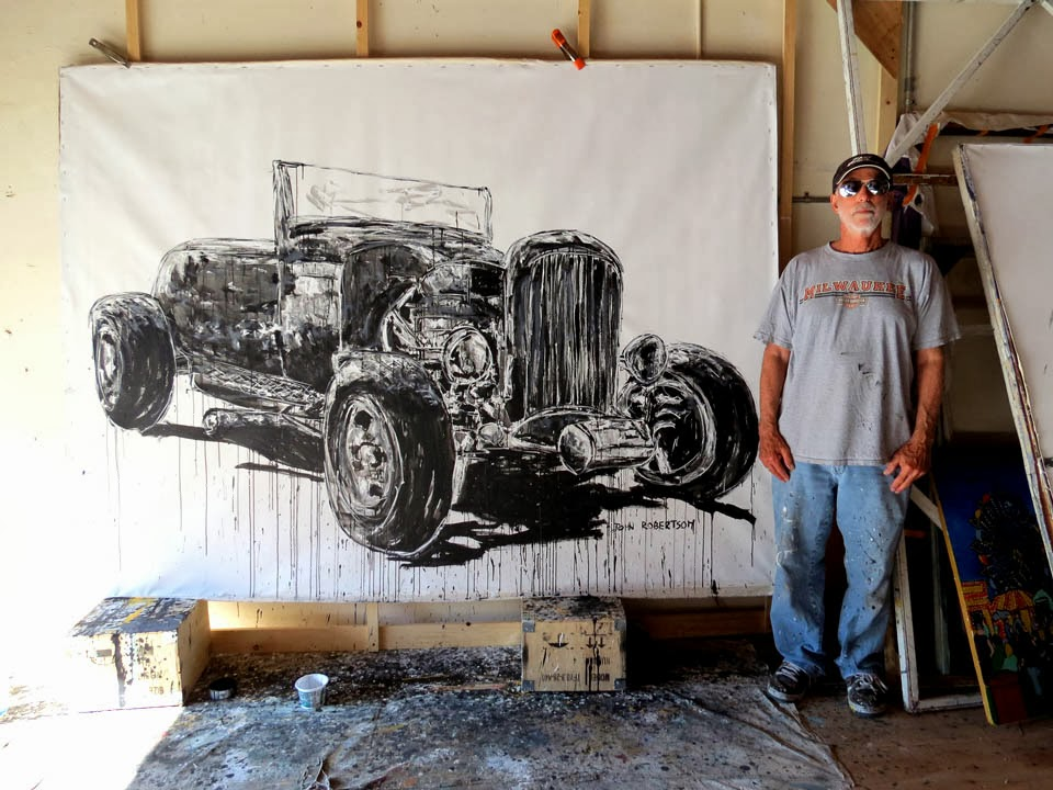 Car painting 1931 Model \