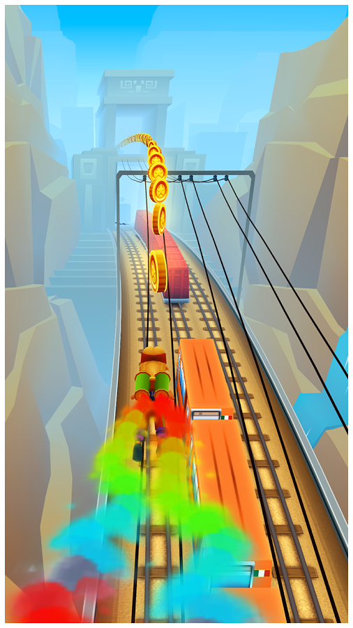 Subway Surfers Android Apk Oyun resimi