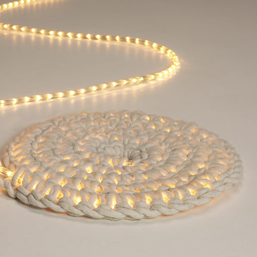 light carpet imu design, diy lamp, diy carpet