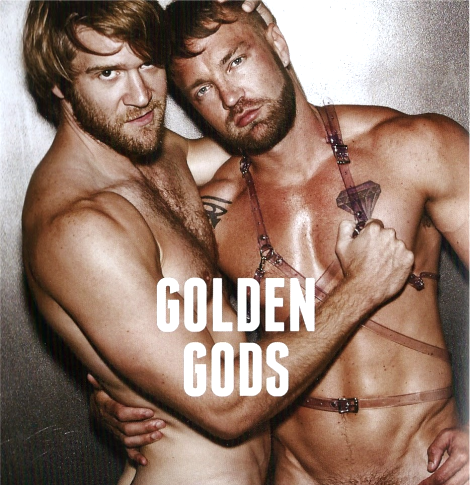 Colby Keller and Will Wikle for Type/Face Magazine