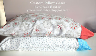 custom pillow cases by Grace Baxter