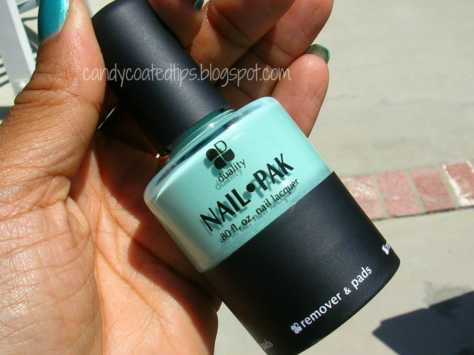 CANDY COATED TIPS: Duality Cosmetics: Nail Pak, as seen on \