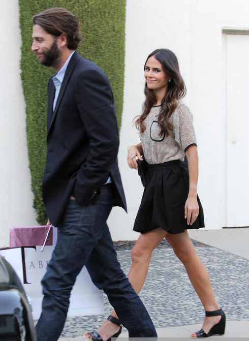 Jordana Brewster Heads To A Party » Gossip | Jordana Brewster