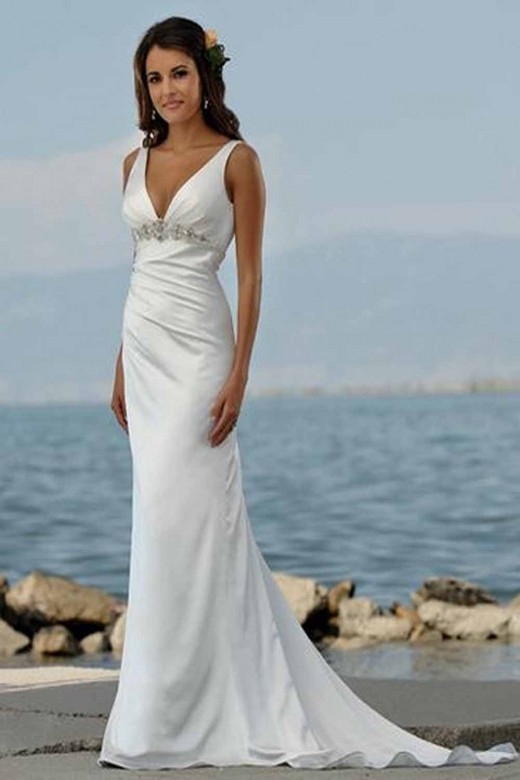 Summer beach wedding dresses 2013 for Summer dresses for wedding