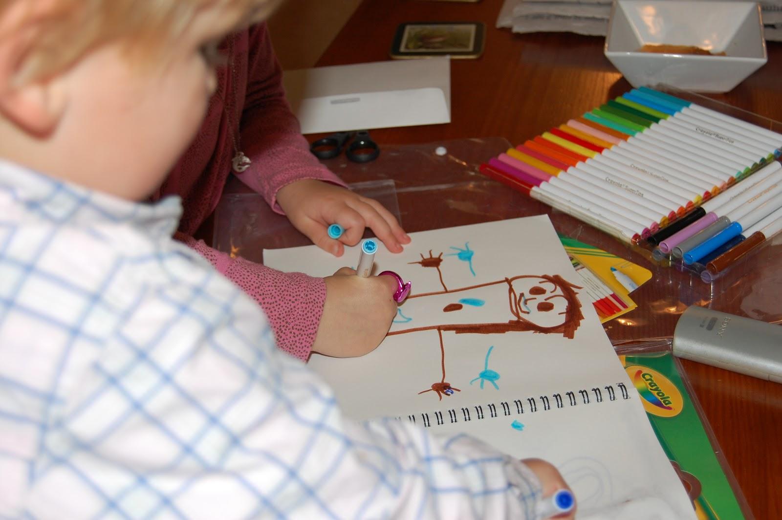 Crayola colouring frenzy
