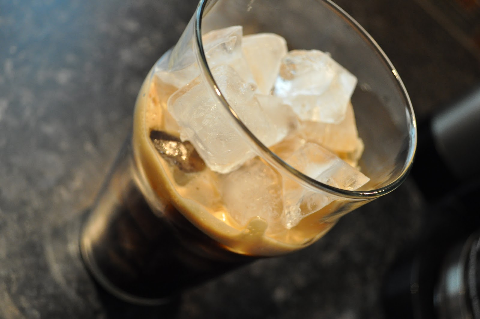 how to make ice break coffee