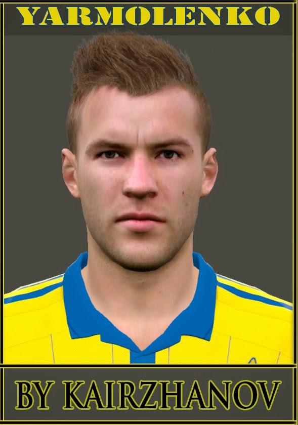 PES 2015 Yarmolenko Face by Kairzhanov