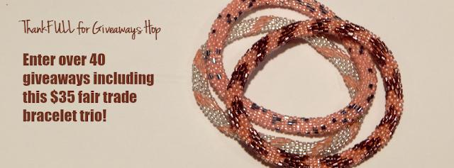 Aid through trade roll on bracelets