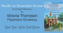 Giveaway ~ Murder on Amsterdam Avenue