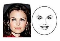 model rambut wajah bulat