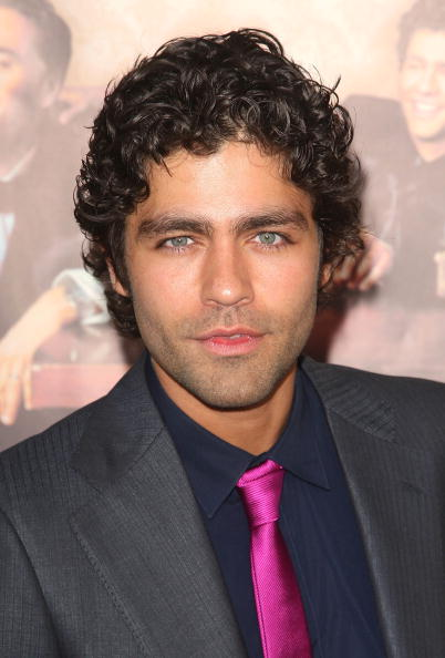 Men's Short Curly Hairmodels Adrian Grenier curly haircut