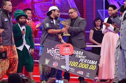 Pemenang Super Spontan 2014, senarai finalis Super Spontan 2014, juara Super Spontan 2014 milik Johan (Abe Macho), gambar dan hadiah pemenang Super Spontan 2014, Super Spontan 2014 diganti Maharaja Lawak Mega MLM 2014