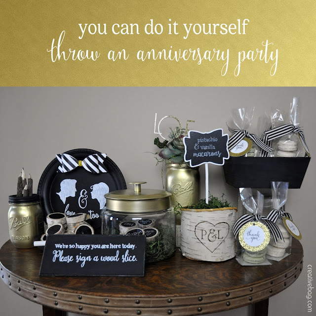 diy anniversary party part three | Creative Bag
