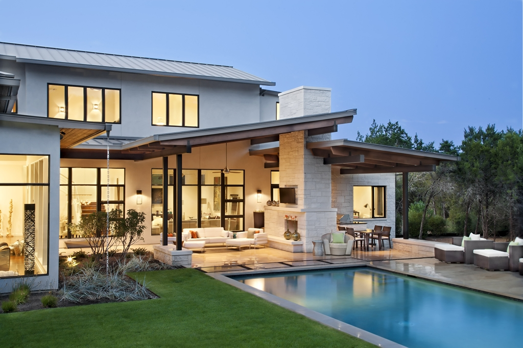 The Blanco House Urban Contemporary Home By James D LaRue Architects