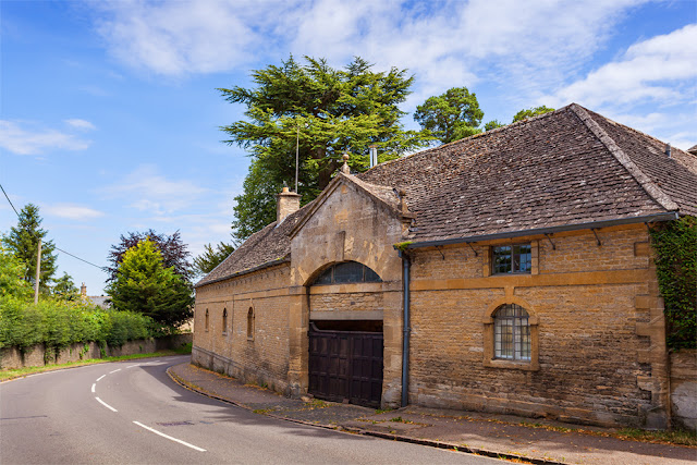 Road through Shipton under Wychwood in the Cotswolds by Martyn Ferry Photography