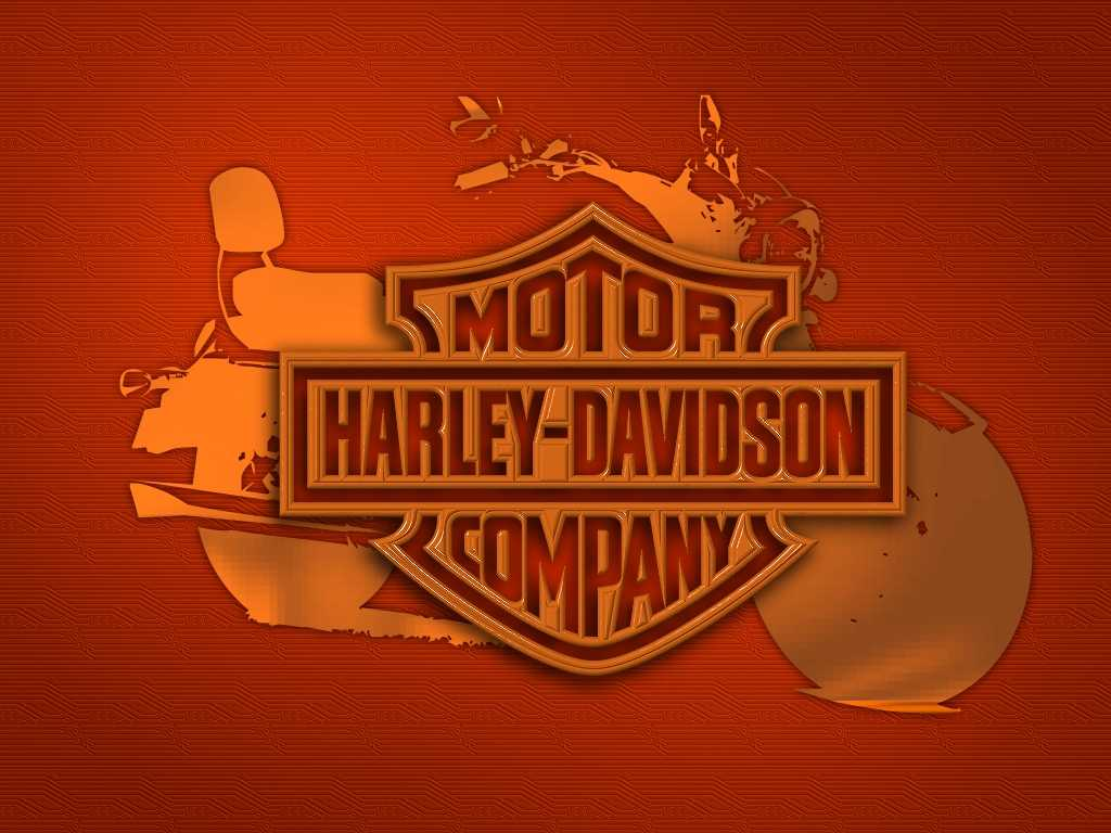 newest harley davidson logo wallpapers - photo #7