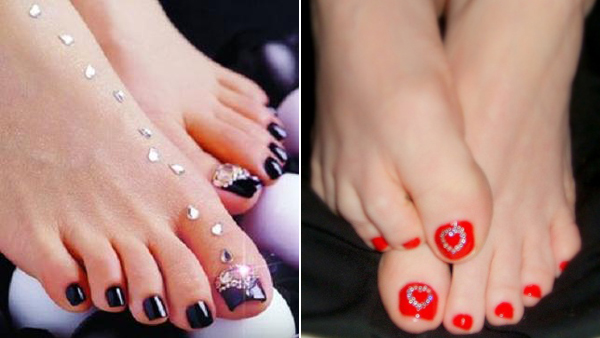 Toe Nail Art Designs 2013 Wowww Banota Style Nails Ideas