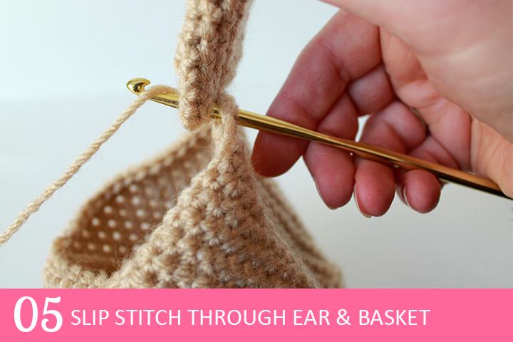 Tutorial: Spring Bunny Crochet Planter Cover |The Inspired Wren