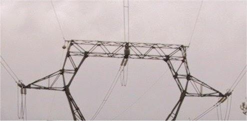 Línia amb dos cables de guarda