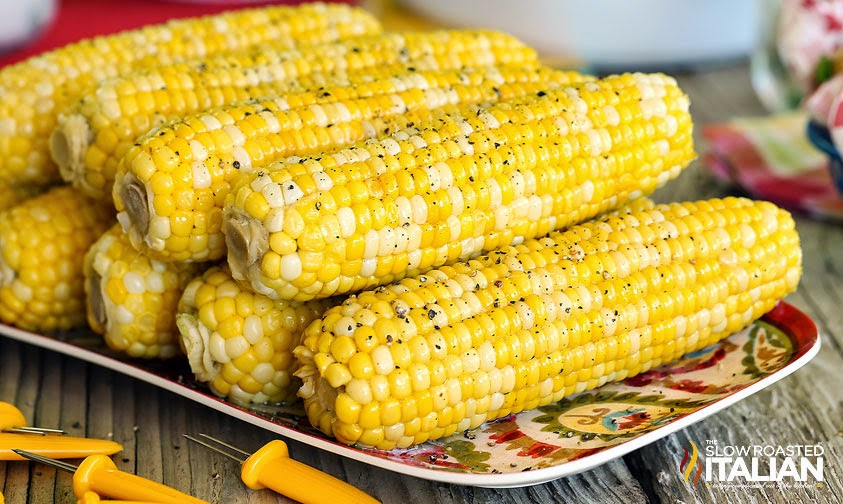 Simple Stove Top Corn on the Cob #corn #easy
