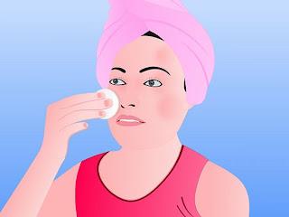 ใช้คลีนซิ่ง (cleansing) ล้างหน้า