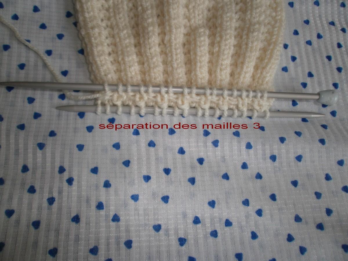 Comment tricoter une maille 2 fois