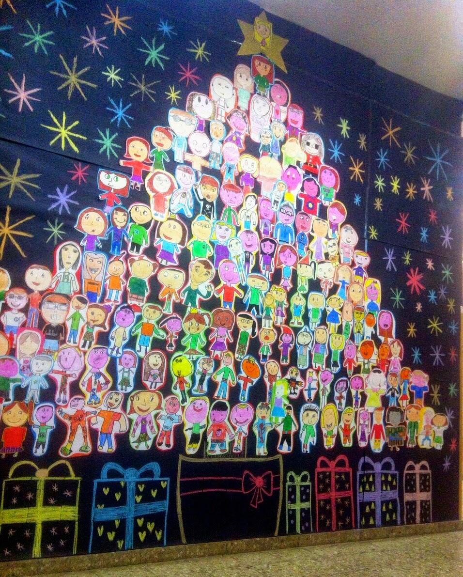 Anachicuca s bados chicucos diciembre - Mural navidad infantil ...