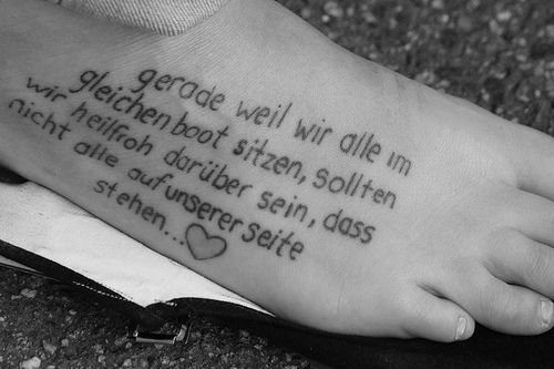 Quotes Cute Tattoos For Girls 500x333px