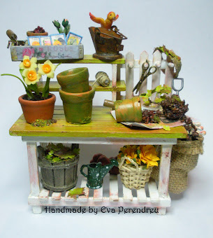 Mesa de jardinería - Potting bench