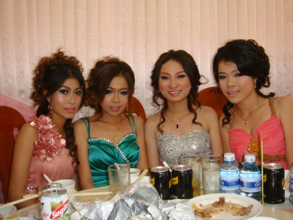 All Beautiful Hairstyle Cambodian Girls Hairstyle In Wedding Ceremony