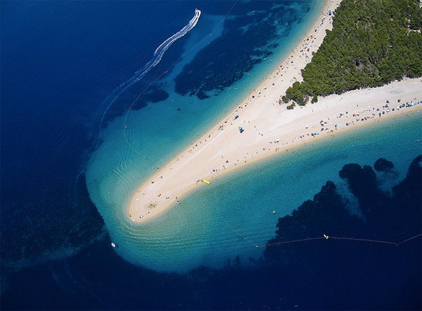 The Golden Horn Beach in Croatia