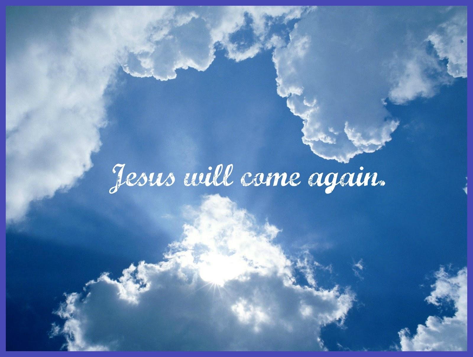 seeking jesus august 29 2012 jesus is coming back