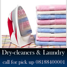 Dry cleaning companies in Lagos