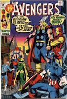 Avengers #92 cover