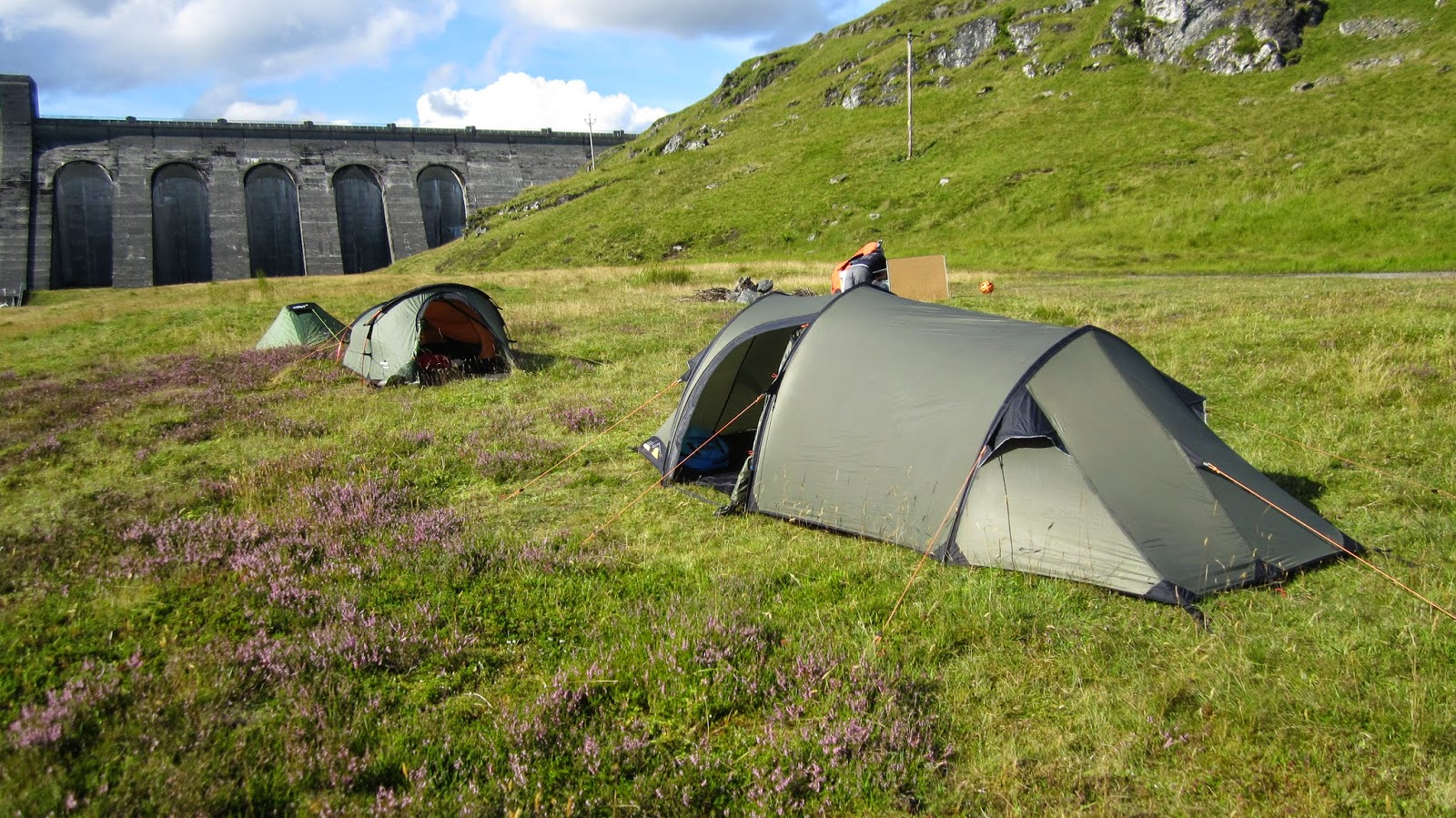 Gelert Solo farthest away & Mountain Equipment Dragonfly 2 | Kingdomguides blog by Murray Wilson