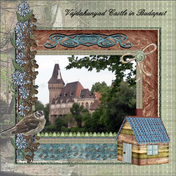 June 2016 - Vajdahunyad Castle in Budapest