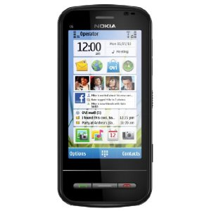 Nokia C6 User Interface