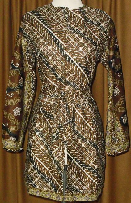 Tunik Dogo +batik terbaru | Butik Online Busana Muslim