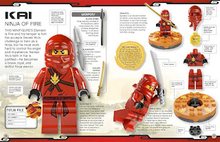 excerpt from bookcover of LEGO NINJAGO CHARACTER ENCYCLOPEDIALEGO NINJAGO CHARACTER ENCYCLOPEDIA
