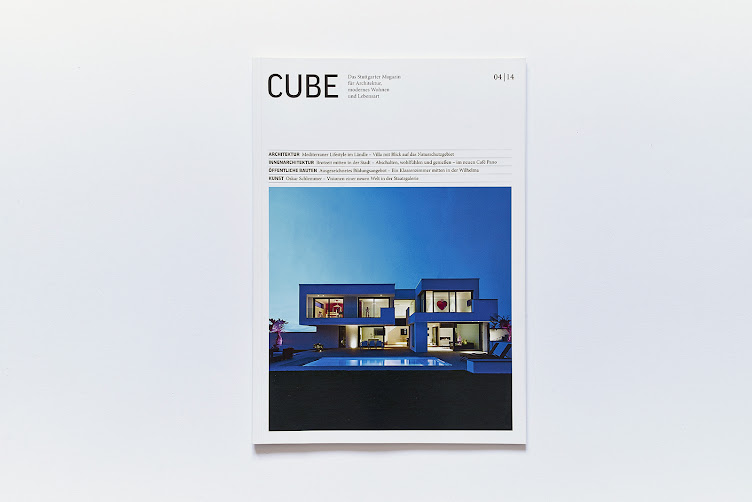 Cube Magazin 4/14 Titel Lee+Mir Architekten